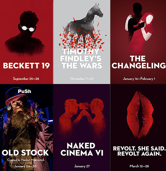 UBC Theatre and Film Season Poster