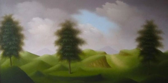 Martin Honisch, 2010, oil on canvas