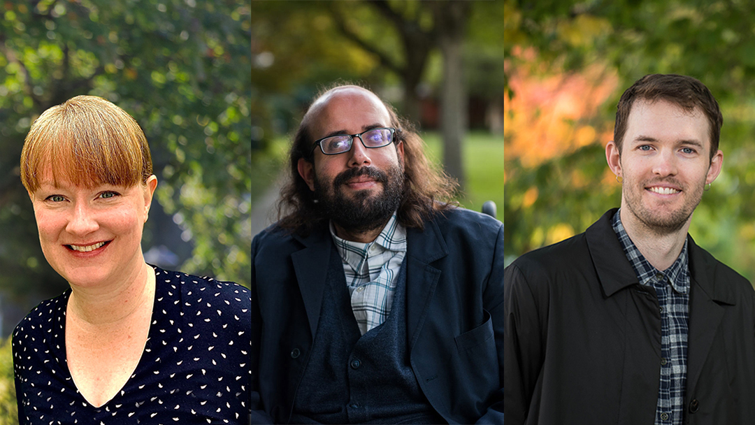 Headshots of Dr. Kirsty Johnston, Dr. Stefan Sunandan Honisch, and Matthew Tomkinson